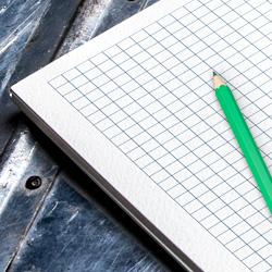 Notesy z długopisem