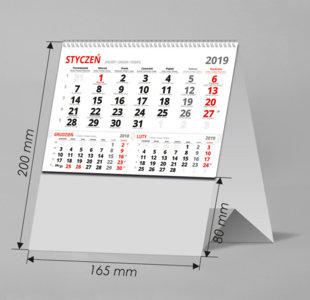 Kalendarze biurkowe BN3